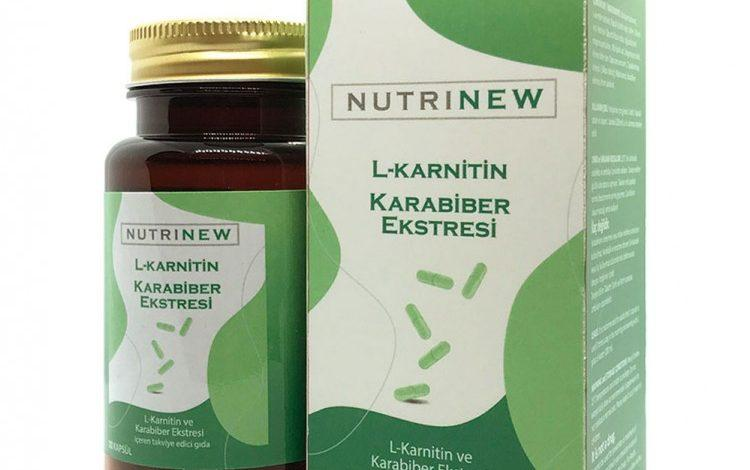 Photo of Nutrinew L-Carnitin Karabiber Ekstresi